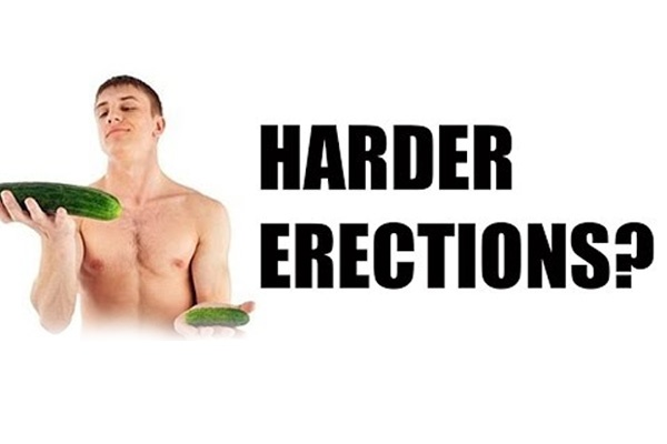 how to get a harder erection